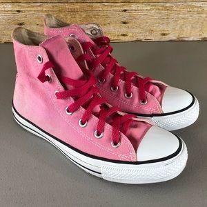 Converse pink size 8.